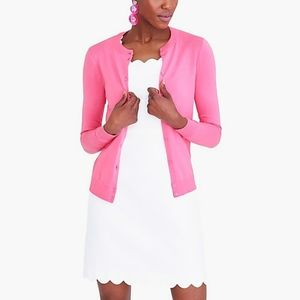 J Crew Pink Cardigan Sweater